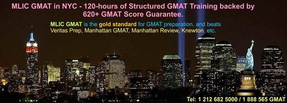 New York GMAT prep courses